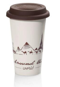 Čističe, doplnky Termohrnček na kávu DeLonghi Globetrotter