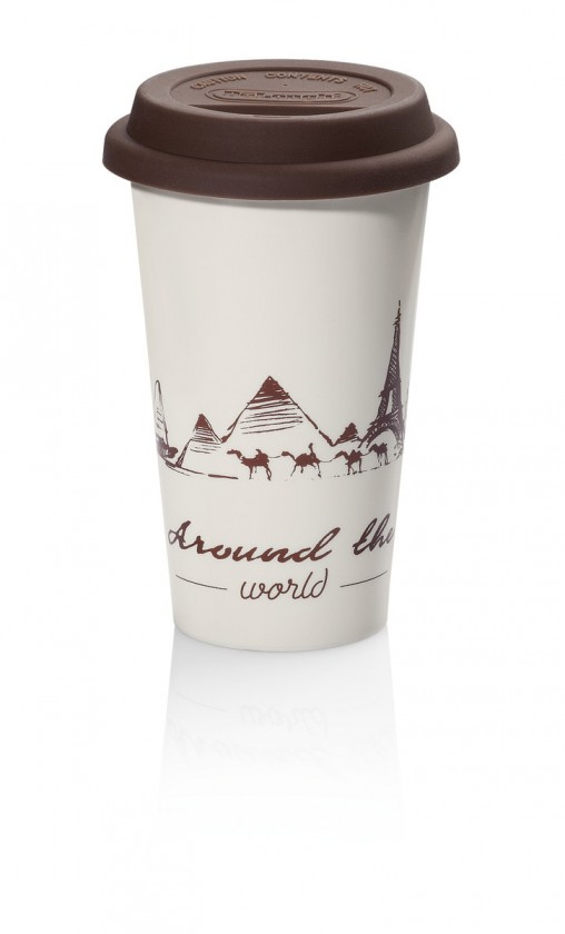 Čističe, doplnky Termohrnek na kávu DeLonghi Globetrotter