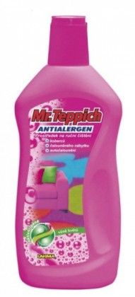 Čističe kobercov Mr. Teppich - čistič (500 ml, vôňa kvetov)