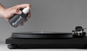 Čistící prostředek na gramofonové desky