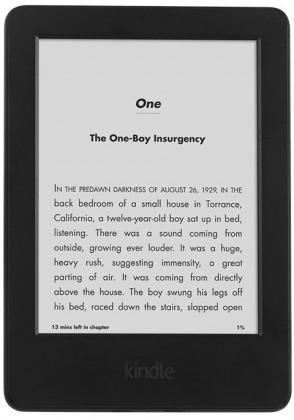 Čítačka elektronických kníh Amazon Kindle 6 Touch, sponzorovaná ROZBALENO