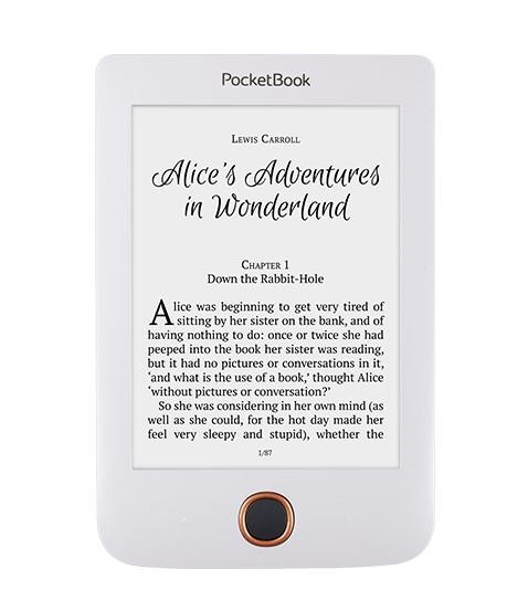 Čítačka elektronických kníh E-book POCKETBOOK 614+ Basic 3 White