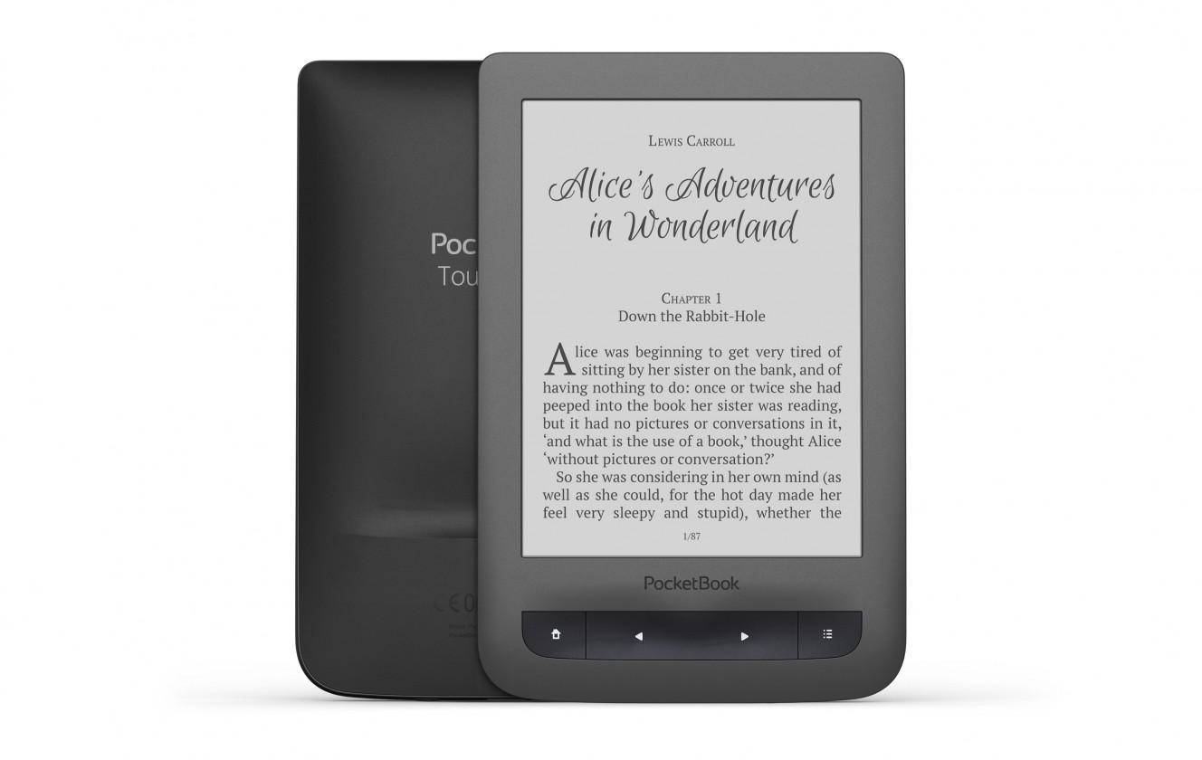 """Čítačka elektronických kníh PocketBook 626 Touch Lux 3, 6 """"E-ink, sivá"""