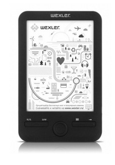 Čítačka elektronických kníh  Wexler E6003