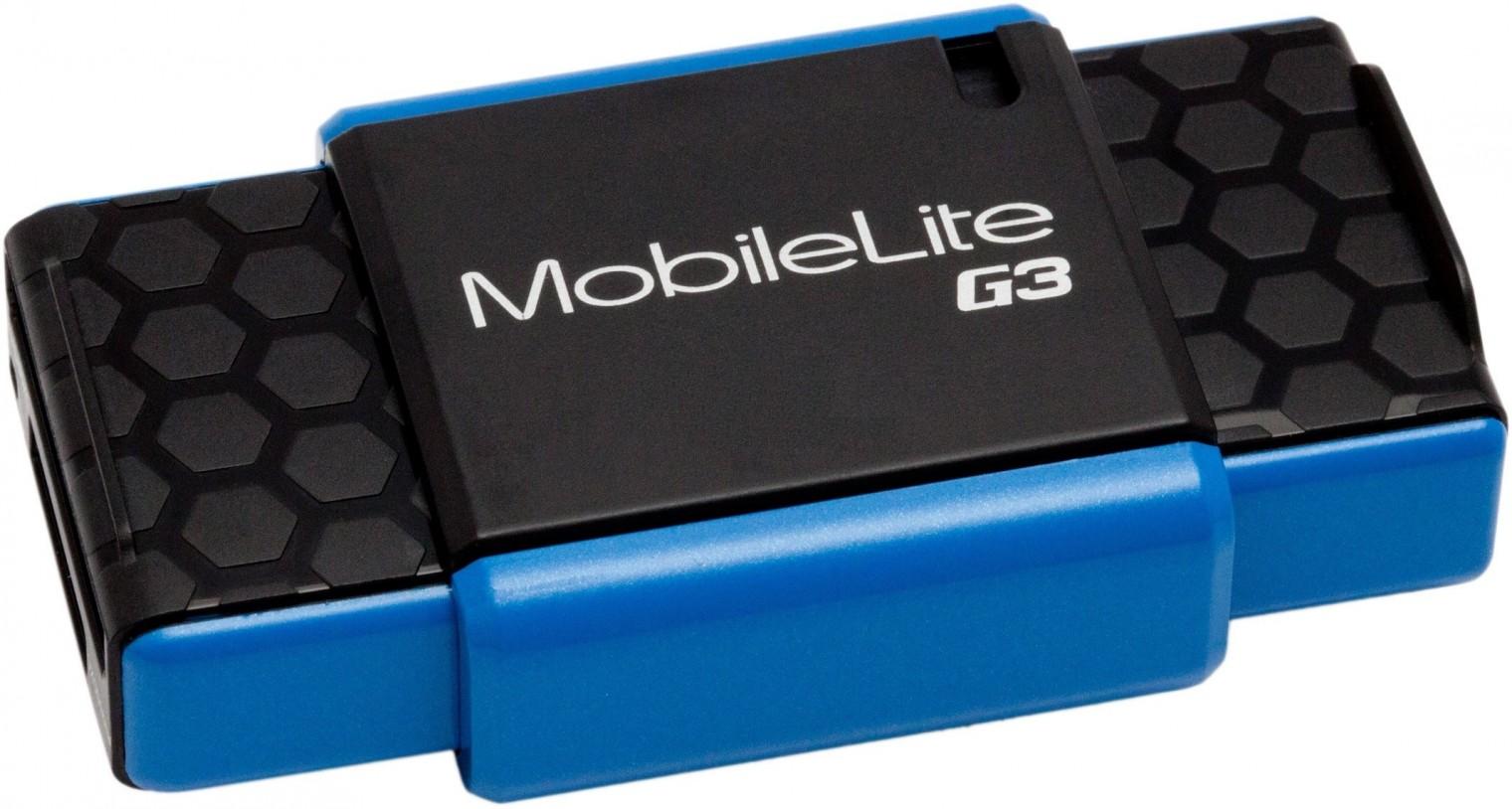 Čítačka kariet Kingston externá USB 3.0 čítačka MobileLite G3