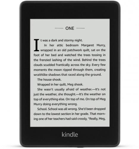 Čítačka kníh Amazon Kindle Paperwhite 4 2018, 32 GB, čierna POUŽI