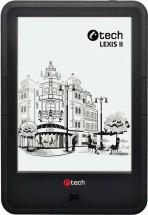 Čítačka kníh C-TECH Lexis II (EBR-62), dotyková obrazovka,čierna
