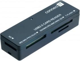 Čítačka pamäťových kariet Connect IT CI-56