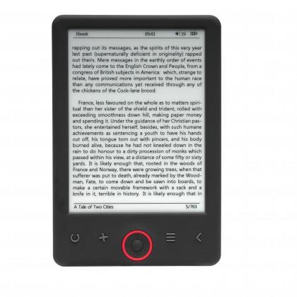 Čítačky kníh Čítačka e-knih Denver, 6 , úložisko 4 GB, 1500 mAh