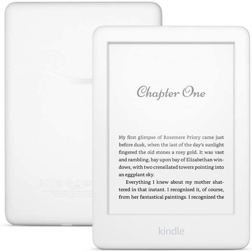 Čítačky kníh Čtečka knih AMAZON KINDLE TOUCH 2020, 8GB, bílá, sponzor. verze