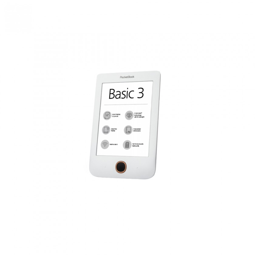 Čítačky kníh E-book POCKETBOOK 614+ Basic 3 White