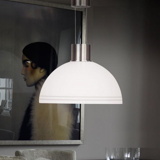 Class - Stropné osvetlenie, LED (matný nikel)
