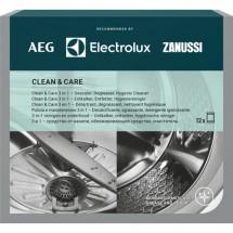 Clean and Care - 3v1 pre umývačky / práčky 12ks M3GCP400