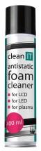 Clean IT antistatická čistiaca pena na obrazovky 400ml
