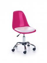 Coco 2 - detská stolička (ružovo-biela)
