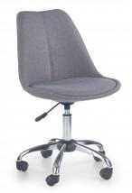 COCO 4 - dětská stolička, sivá, regulacia výšky sedáku