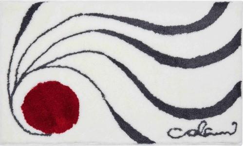 Colani 18 - Polkruhová predložka 50x80 cm (biela)