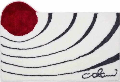 Colani 2 - Kúpeľňová predložka 70x120 cm (biela)