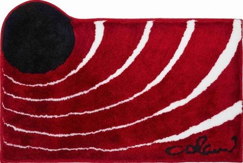Colani 2 - Kúpeľňová predložka 70x120 cm (červená)