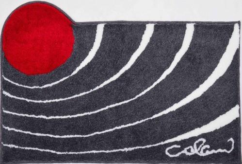 Colani 2 - Kúpeľňová predložka 80x150 cm (antracitová)