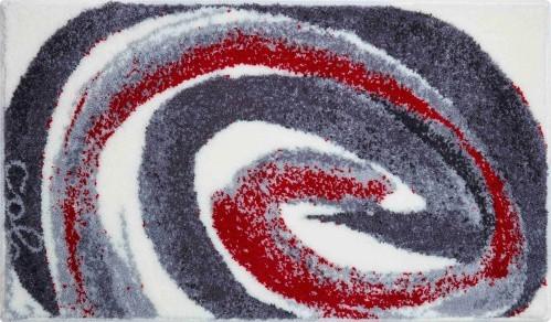 Colani 42 - Kúpeľňová predložka 60x100 cm (sivá červená)