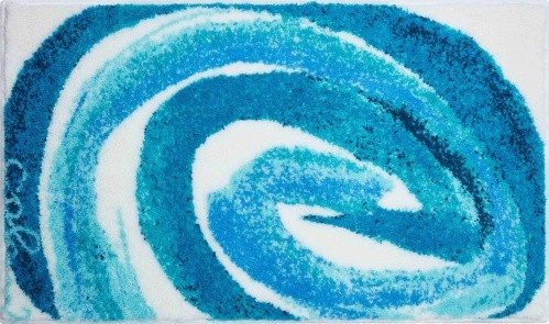 Colani 42 - Kúpeľňová predložka 70x120 cm (tyrkysová)