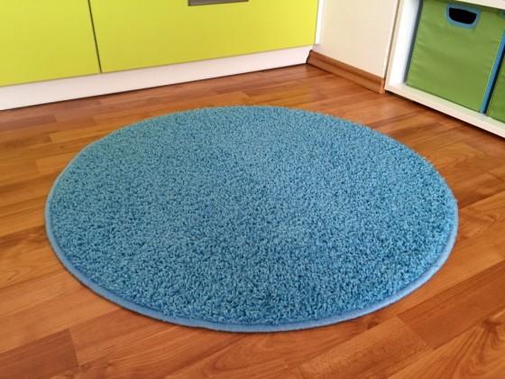 Color Shaggy - Koberec, 80 cm (svetlo modrá)