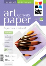 Colorway fotopapier CW ART Cotton Canvas 380g/m2,10ks,A3+