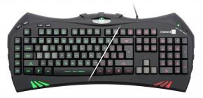 Connect IT Battle Keyboard CI-388USB SK, čierna