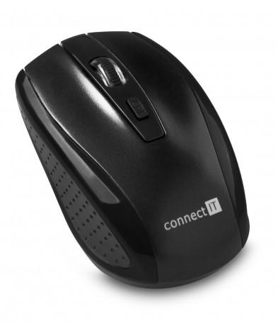 Connect IT CI-1223 bezdrátová optická myš - černá
