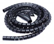 Connect IT CI-514,Trubice na vedení kabelů,2,50m,20mm,černá