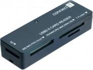 Connect IT čítačka pamäťových kariet CI56, ultra slim
