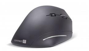 CONNECT IT CMO-2510, černá CMO-2510-BK + ZADARMO podložka pod myš Olpran