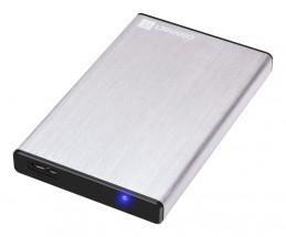 """CONNECT IT externý box LITE pre HDD 2,5""""SATA, USB 3.0 strieborný"""