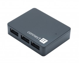 CONNECT IT USB 3.0 hub 4 port