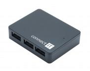 CONNECT IT USB 3.0 hub 4 port