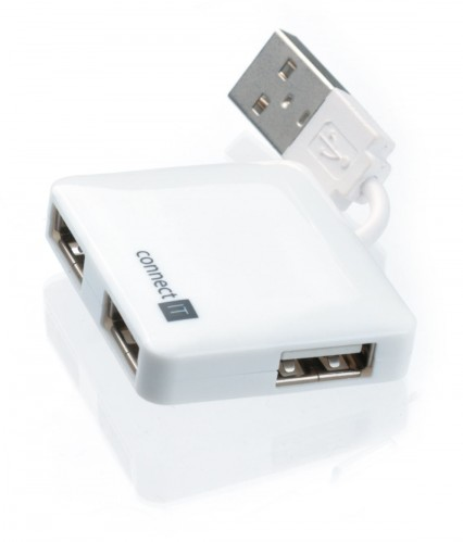 CONNECT IT USB hub 4 port MINI