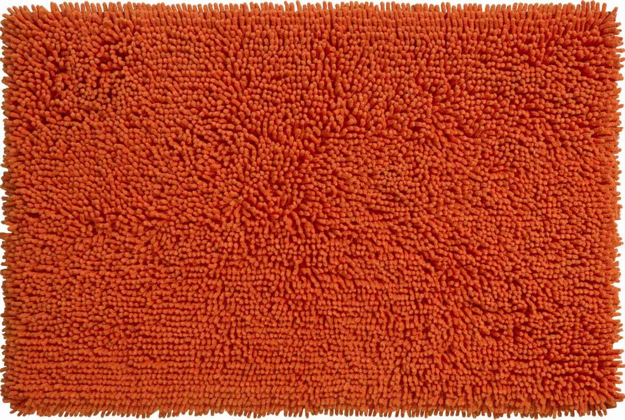 Corall - Kúpeľňová predložka 60x90 cm (pomerančová)