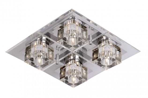 Cristy - stropné osvetlenie, 20W, G4 (strieborná)
