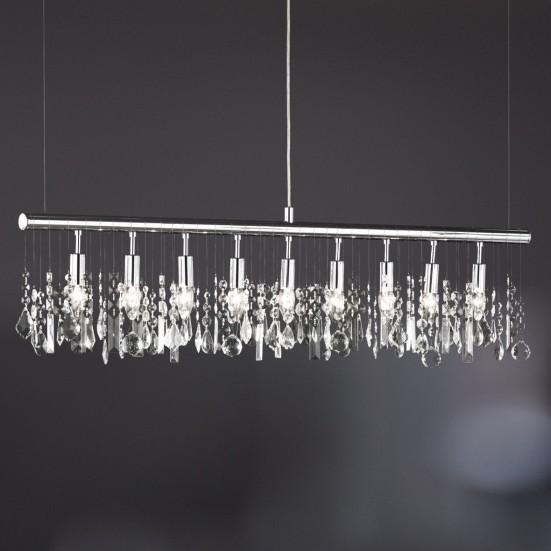 Crystal - Lampa, E14 (chróm)