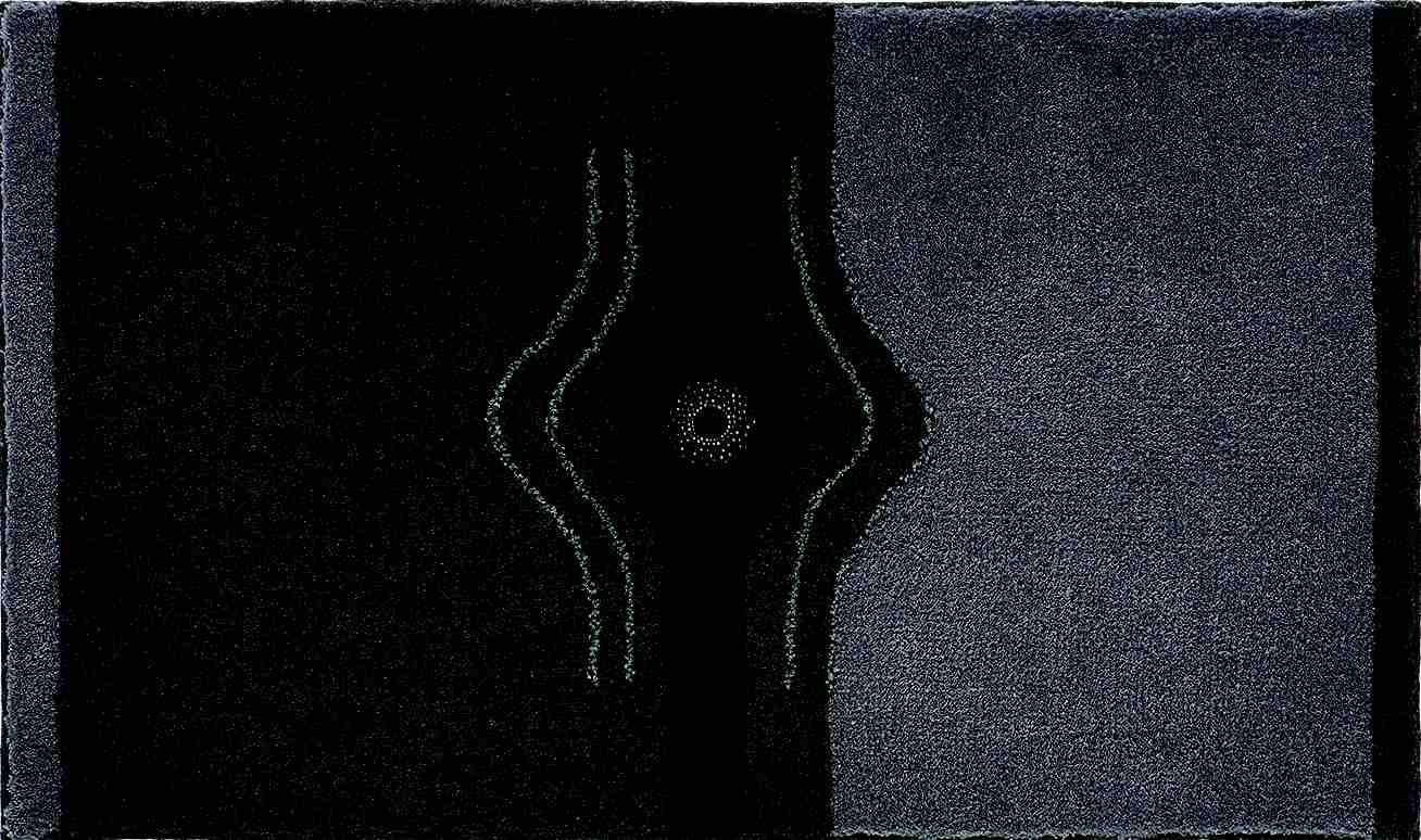Crystal Light - Kúpeľňová predložka 60x100 cm (antracitová)