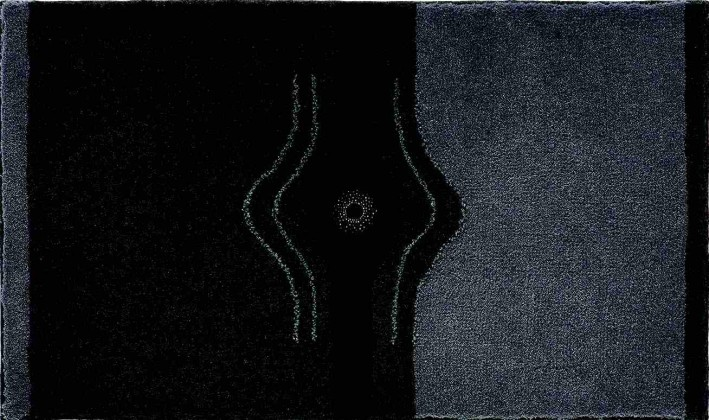 Crystal Light - Kúpeľňová predložka 70x120 cm (antracitová)