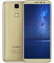 Cubot X18, Dual SIM, LTE, 32 GB, 3GB RAM, zlatá + držiak do auta