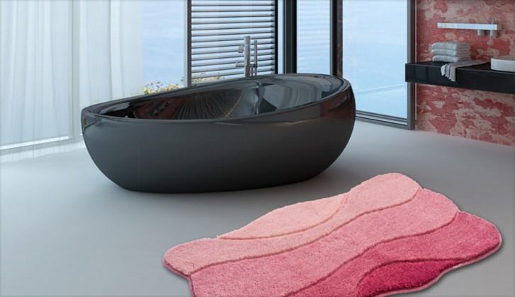 Curts - Kúpeľňová predložka 70x120 cm (ružová)