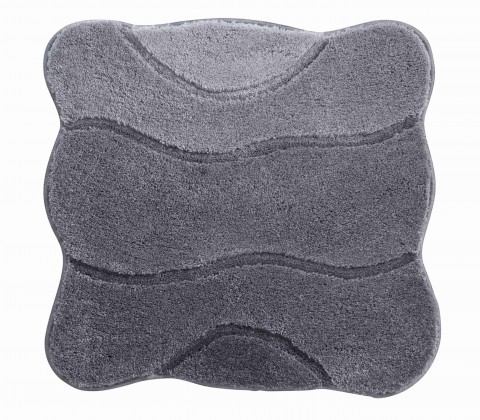 Curts - Kúpeľňová predložka malá 60x60 cm (sivá)