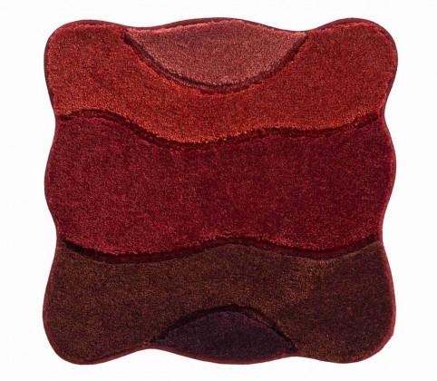 Curts - Kúpeľňová predložka malá 60x60 cm (teplá červená)
