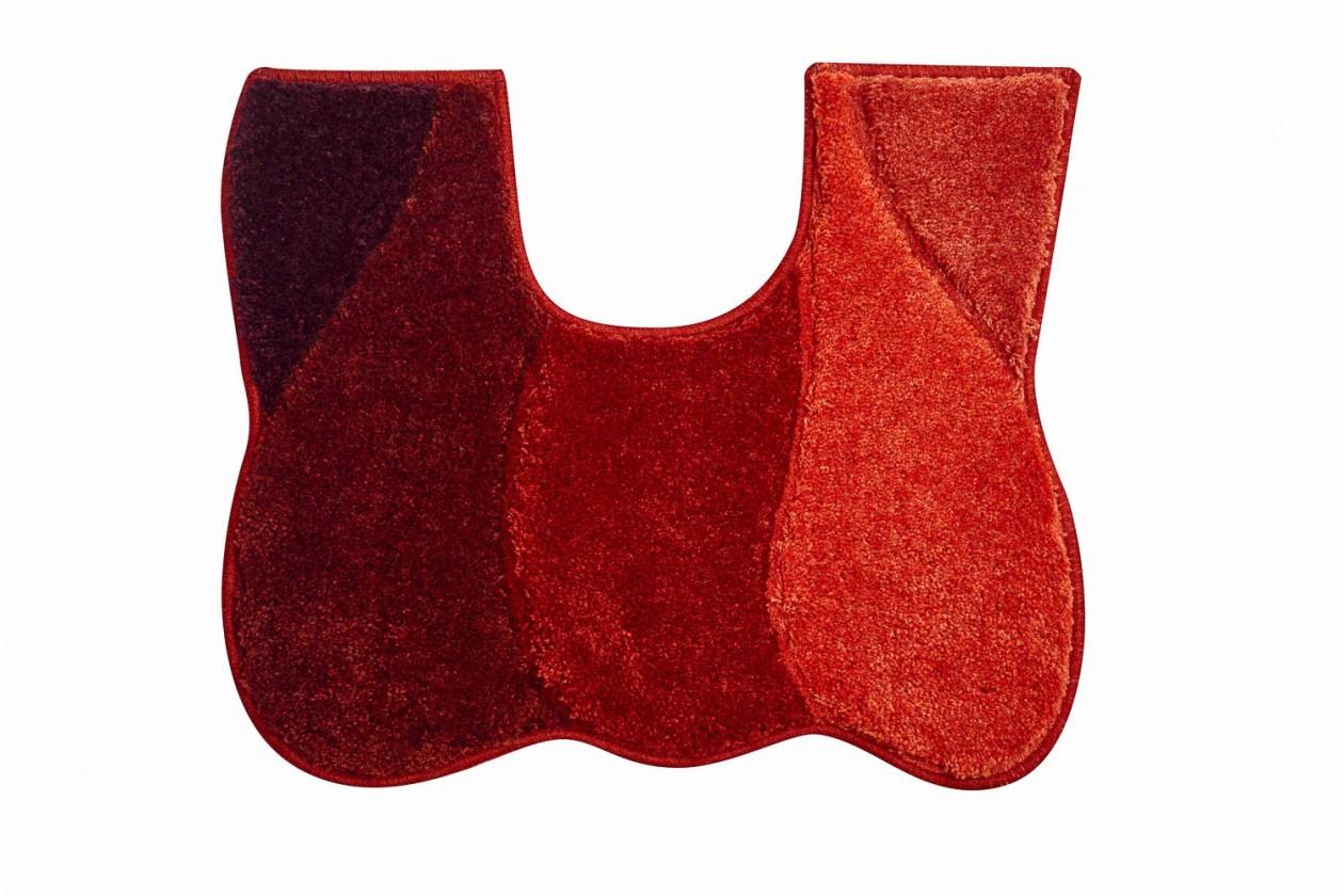 Curts - WC predložka 50x60 cm (teplá červená)