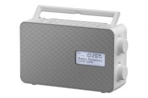 DAB+ rádio Panasonic RF-D30BTEG-W, biele