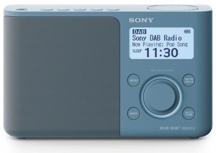 DAB+ rádio Sony XDR-S61DL, modré