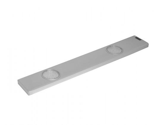 Daeron - Kuchynské LED svietidlo, 2x24LED 6,8W (strieborná)